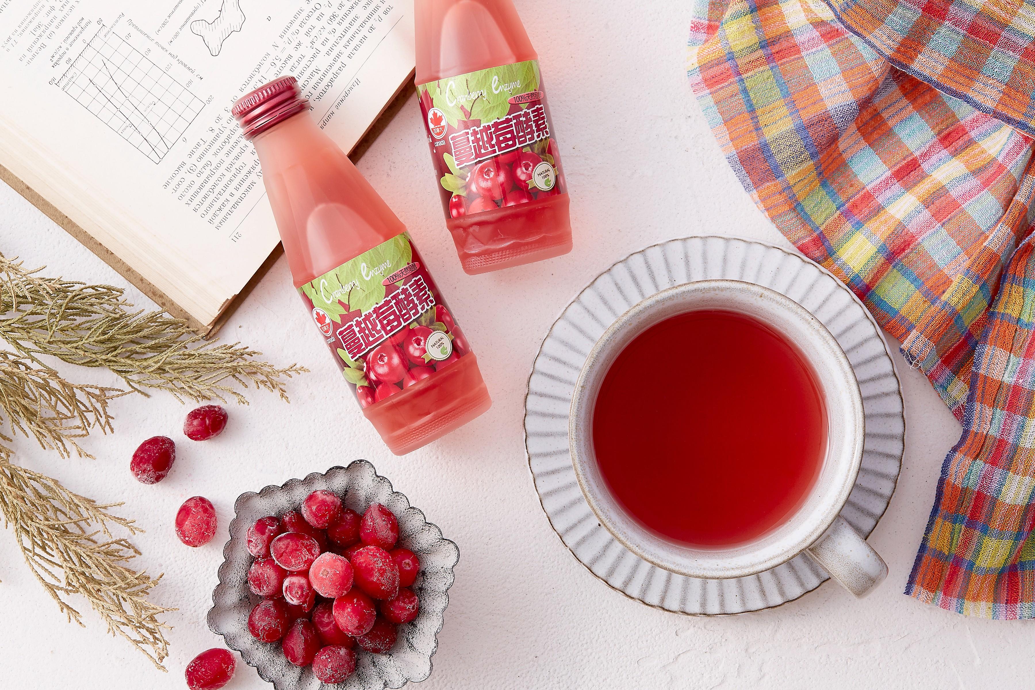 蔓越莓酵素 免稀釋即飲瓶〔3瓶入〕